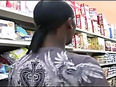 Amateur gets Picked up in SuperMarket