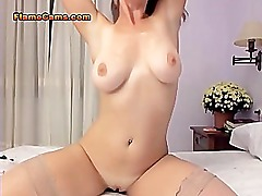 Busty Girl Having Orgasms