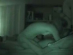 Amateur Curly Headed Blond Fucking Her Boyfriend (Night Vision).