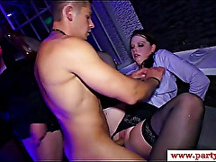 Hottest real party amateur pumped in high def