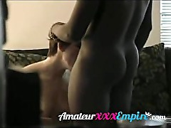 Hidden Camera wife cheating with black stud