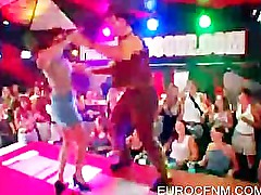 Lucky sluts dancing with stripper