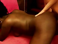 Tourist fucks ebony whore