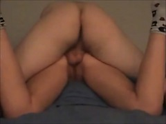 booty wife gets anal creampie