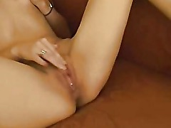 Amateur Big Nipple Brunette Masturbating