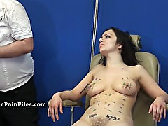 Extreme needle torture and merciless punishment of amateur slavegirl Beauvo
