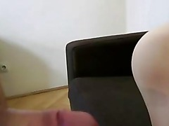 Real amateur british blonde sucks old mans cock and gets fucked