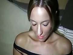 Horny amateur couple in action POV