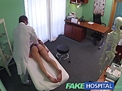 FakeHospital Doctor gives a strong orgasm to fit young lonely girl for her birthday