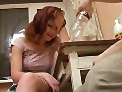 Amateur girl gives boyfreind blowjob on webcam