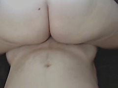 Big booty babe fucking her man