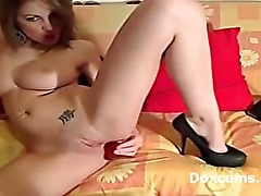 Amazing pussy fingering by amateur big titty