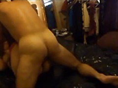 Amateur booty British milf on real homemade sextape