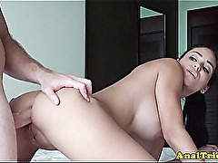 Anal first timer gf ready for anal