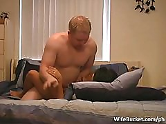 Hotel room amateur sex tape