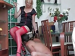 Young European Amateur Blonde In...