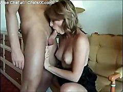 Gorgeous wife gets pussy and ass fucked on homemade freePart1