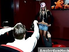 Dutch prostitute seduces tourist