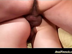 cute french gals are anal fucked in orgy