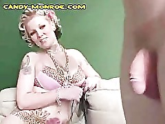 Blonde Candy Training a White Cuckold