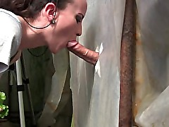 Amateur Young Milf Gloryhole Blowjob&Deepthroat Cumshot by Sylvia Chrystall