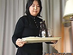 Japanese mature chick has hot sex part1