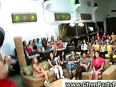 Cfnm babes watch while guy gets blowjob