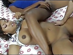 Ebony Amateur Babe Love Hard Coc
