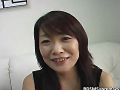 Amateur Asian slut sucks dick and rides
