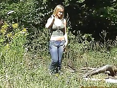 Busty Amateur Lucy Outdoor