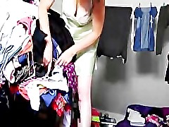 shower in dressing cam hidden spycam