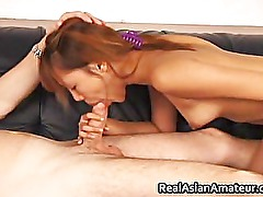 Horny petite asian slamming her pussy part6