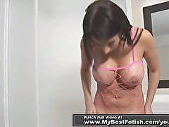 MILF WORSHIP PERFECT ASS IN FISHNET