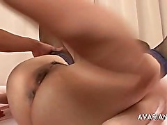 Fisting And Wet Orgasm For A Horny Asian Bitch