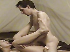 Cute amateur girlfriend suck and fuck with cumshot