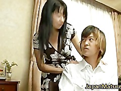 Japanese mature lady has sex part4