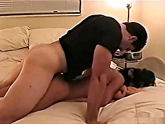 hottie getting fucked doggystyle and anal