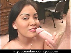 Hottest Asian Hunny Bunny blowjob!