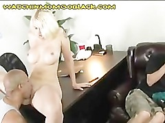 His Sexy Blonde Mom With A Black Lover