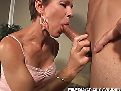 Mature MILF Cant Get Enough Cock