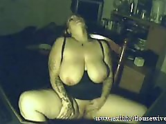 Kinky busty silvia 43 masturbating for cam