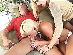 Amazing threesome with fucking hot and horny sluts and one muscular bastard - Darryl Hanah,Kacey Jordan,Randy Spears! Enjoy the fucking hot show with amazing whores!