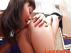 Hot Lesbians Ass Licking And Play Toys