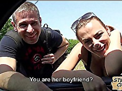 Horny hitchhiker gets fucked hard Hanna Sweet.1