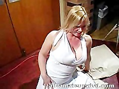 British Milf Bukkake at Swinger Party – Amateur