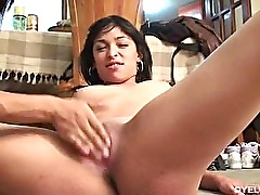 Two horny latina babes getting fucked by two guys