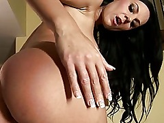 Brenda Black amateur european brunette high heels toying her pussy