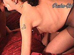 Fucking with BDSM &; Nylons - Passion-Girl German Amateur