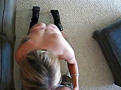 Hot milf giving great head