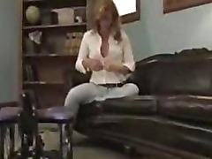 Blonde amateur first time on camera
